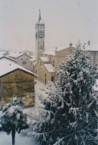 Nibbiola sotto la neve