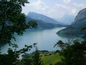 Il lago di Molveno