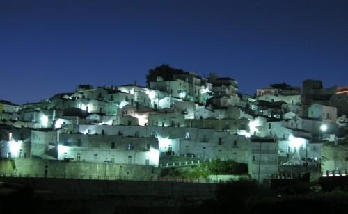Monte Sant'Angelo - Bianco di sera
