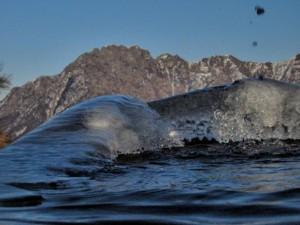L'acqua, il gelo, la neve e i denti di Val Mala