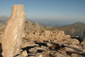 panorama dalla cima del marguareis