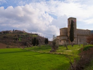 Panorama dall'Abazia di Sant'Antimo