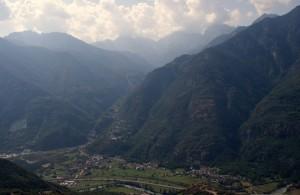 Panoramica di Champdepraz