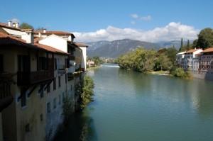 Sul ponte di Bassano…ed un bacin d'amor.