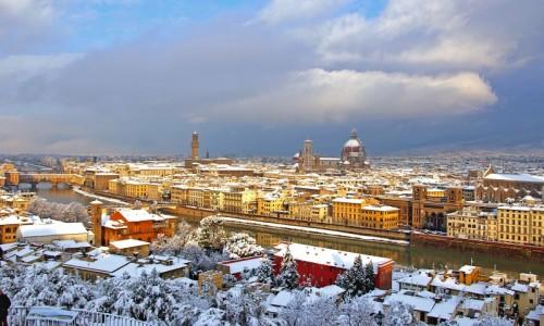 Firenze - ALBA... DOPO LA NEVICATA...