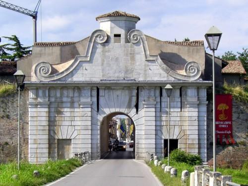 Palmanova - Ingresso per gli ospiti illustri