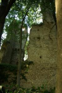 Resti della torre di Rai XII secolo