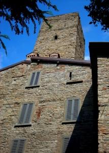 La torre di Gombito a Bergamo