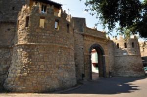 Porta e Torri a Piazzale San Martino - Valentano (VT)