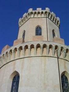 La torre più alta del Castello Ducale