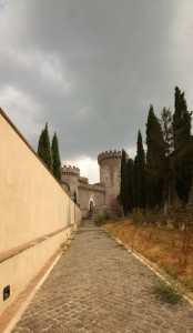 Quel lungo viale che porta a…Rocca Pia