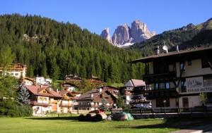Quattro passi in Val di Fassa.