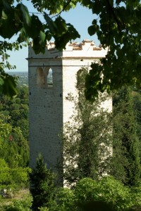 Torre degli ezzelini dall'alto