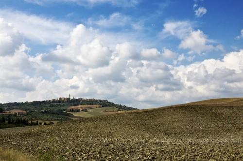 Pienza - Tra le nuvole