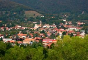 Panorama Bergamo a nord di Bergamo Alta