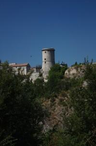 La Torre vista da: Contrada Pesco dello Zingaro