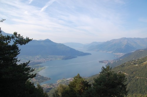 Gera Lario - Lago di Como da San Bartolomeo