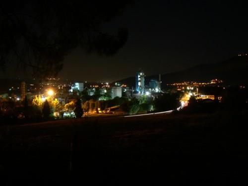 Scafa - Scafa in notturna....