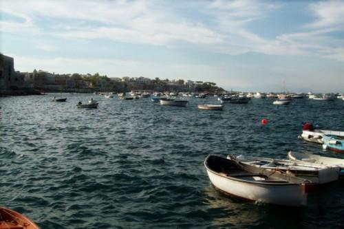 Ischia - Barche a riposo