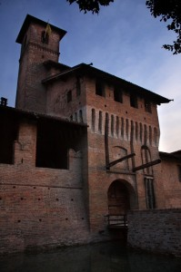 Ingresso al castello di Pagazzano