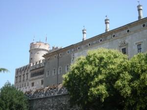 Angolo del castello del Buonconsiglio