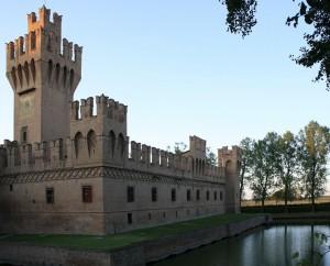 Scorcio del Castello di San Martino dei Manzoli