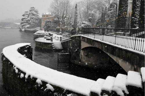 Como - como sotto la neve