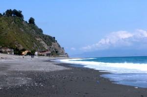 spiaggia di alì terme
