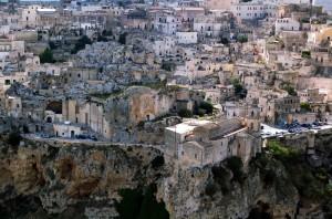 case nelle rocce e rocce nelle case: i Sassi di Matera