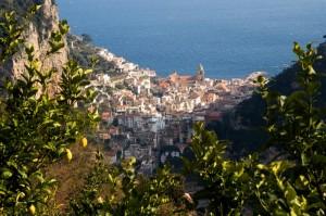 Amalfi, dall'alto!