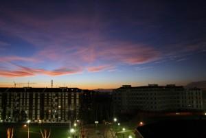 Corbetta al tramonto