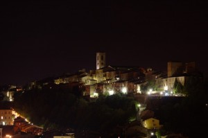 Colle: Le Mura e il bastione del Baluardo nel Castello Medievale