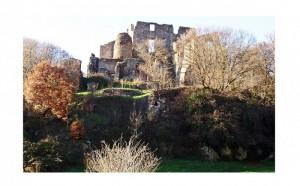 Rovine del Castello Orsini Altieri, Riserva Naturale Regionale di Monterano