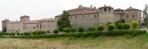 Il Castello (sx) e la Rocca (dx)