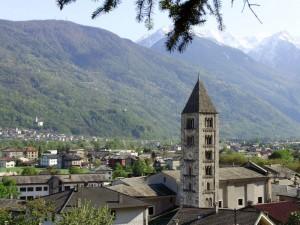 Paesaggio Villa di Tirano