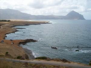 Spiaggia di Cornino e …….. Monte Cofano…….Magico!!!!!!!!!!!!