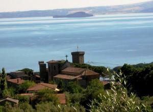 Castello Rocca Monaldeschi - dominio sul lago