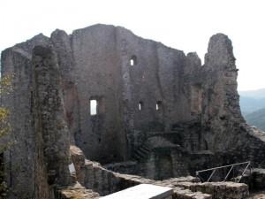 Castello di Canossa Interno