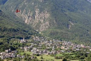 Volando sopra Saint-Marcel