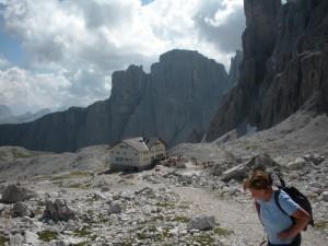 Rifugio Franco Cavazza al Pisciadù - Sella Gruppe