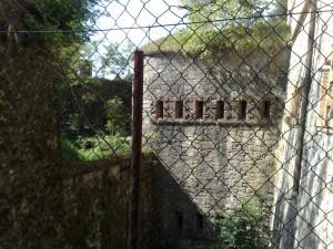 Colle di Nava (IM) Forte centrale Nava visto da fuori