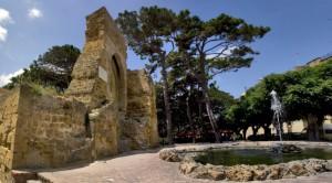 Le rovine del Castello Di Mazara del Vallo