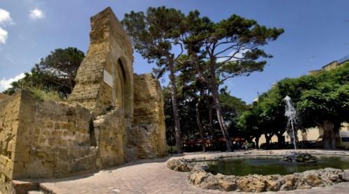 Mazara del Vallo - Le rovine del Castello Di Mazara del Vallo