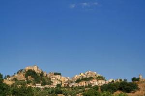 Cielo blu su Castiglione di Sicilia