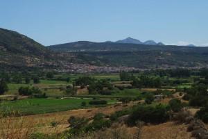 Panorama di Galtelli'