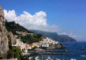Amalfi in una splendida giornata di settembre