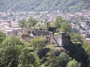 la fortezza di Chiavenna