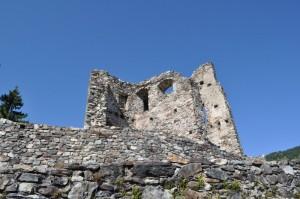 Il castello che domina la valle
