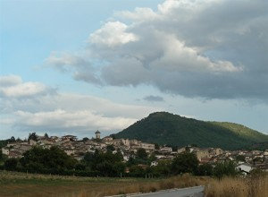 Panorama di San Demetrio ne' Vestini.