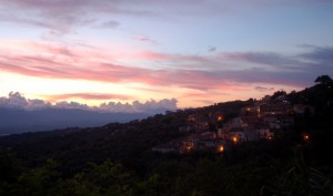 Trenta al tramonto